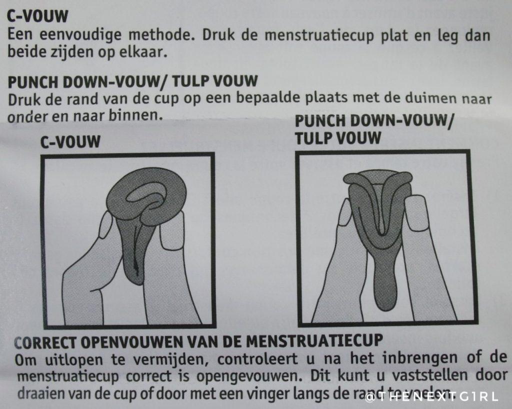 Hoe breng je een menstruatiecup in?