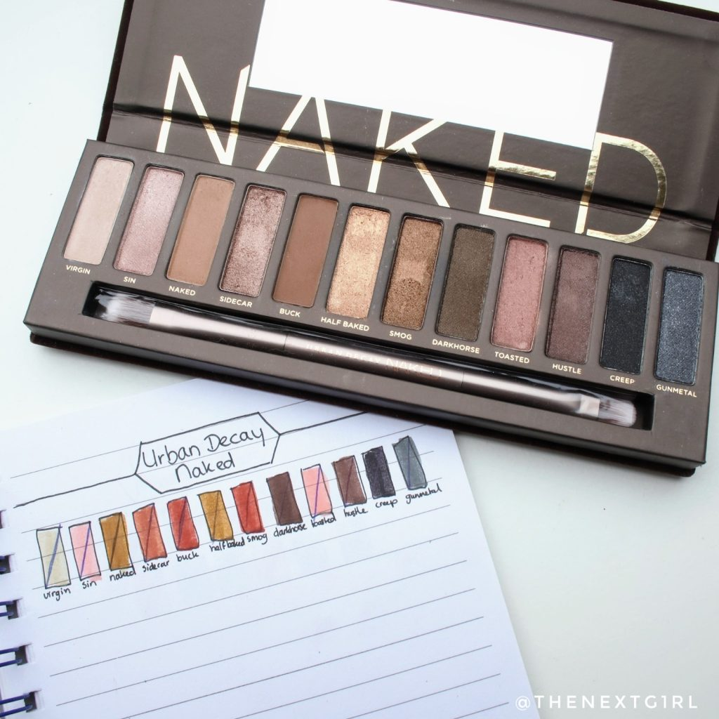 Urbay Decay naked palette