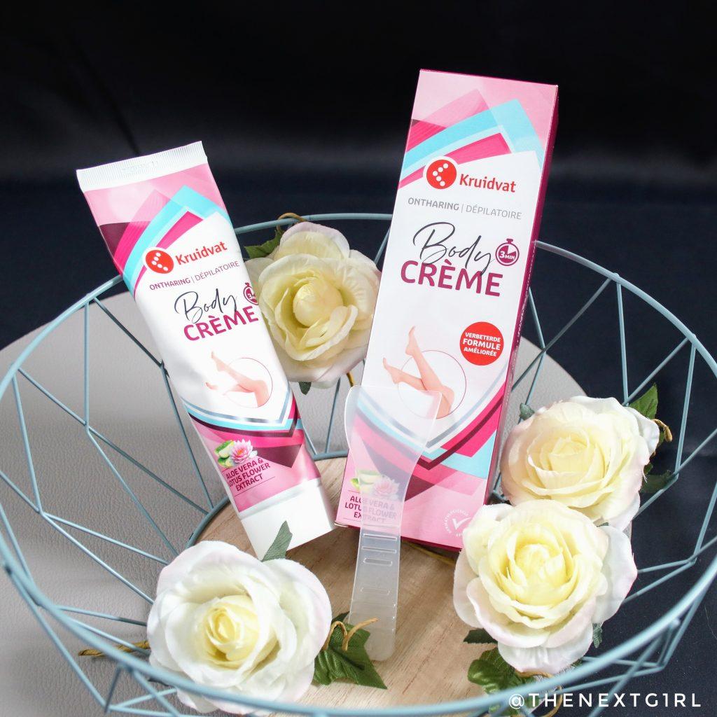 Inhoud verpakking Kruidvat ontharing body crème