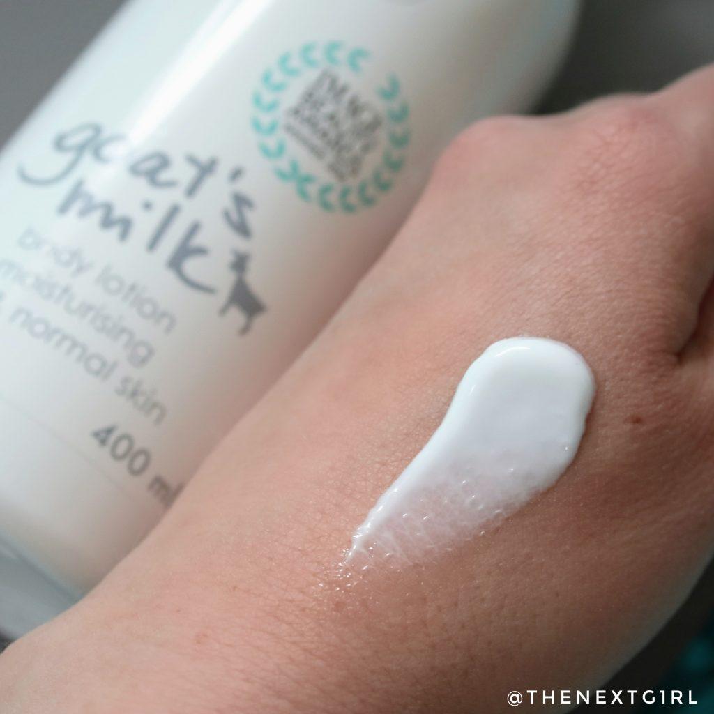 Ziaja Goat's Milk body lotion lichte textuur