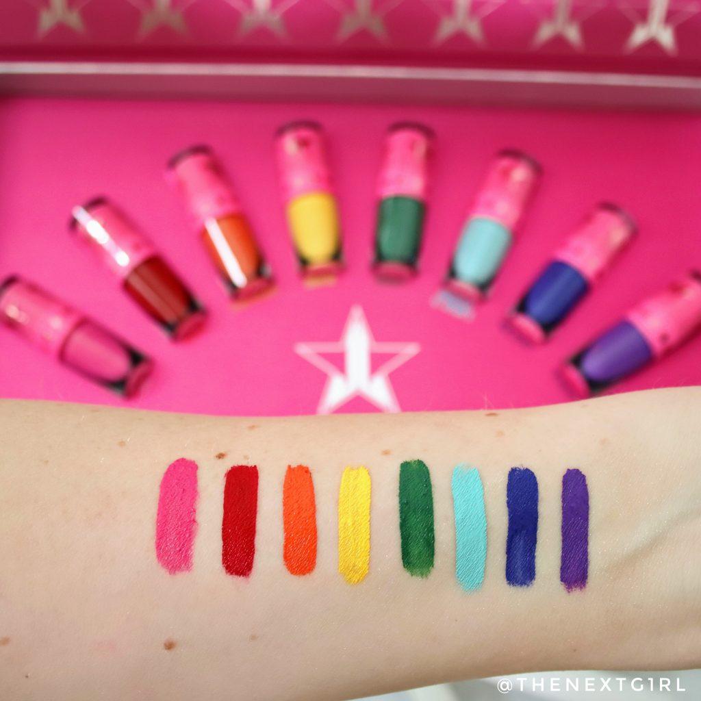 JSC Equality lipsticks swatches