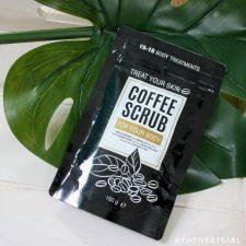Action coffee scrub voor lichaam