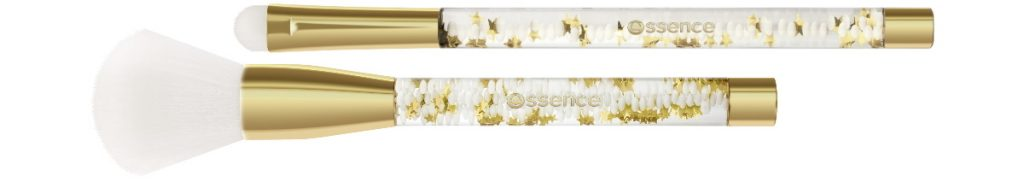 Essence From Santa With Love Limited Edition Kerst 2019 face brush oogschaduw penseel