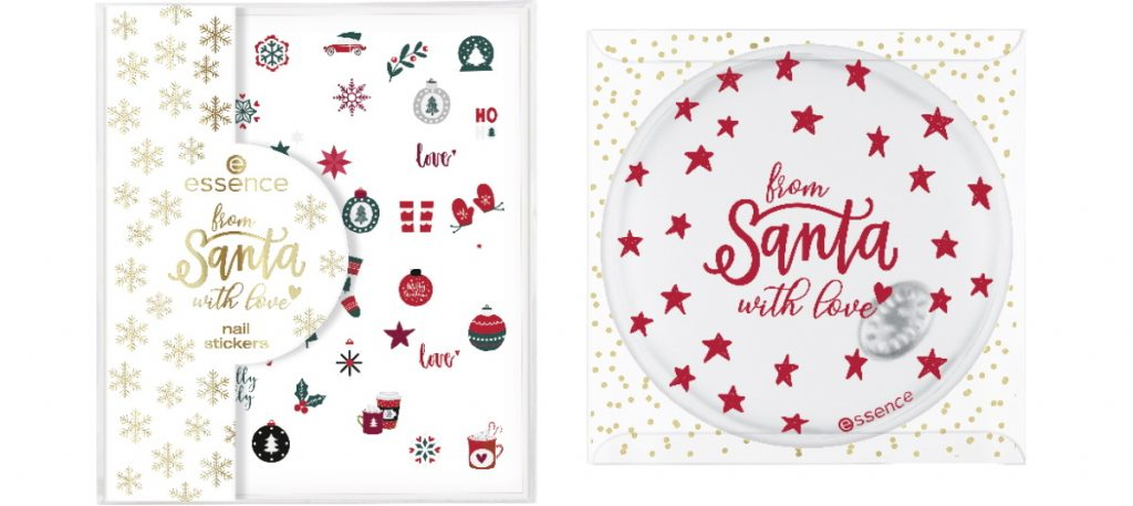 Essence From Santa With Love Limited Edition Kerst 2019 nagelstickers heat pack