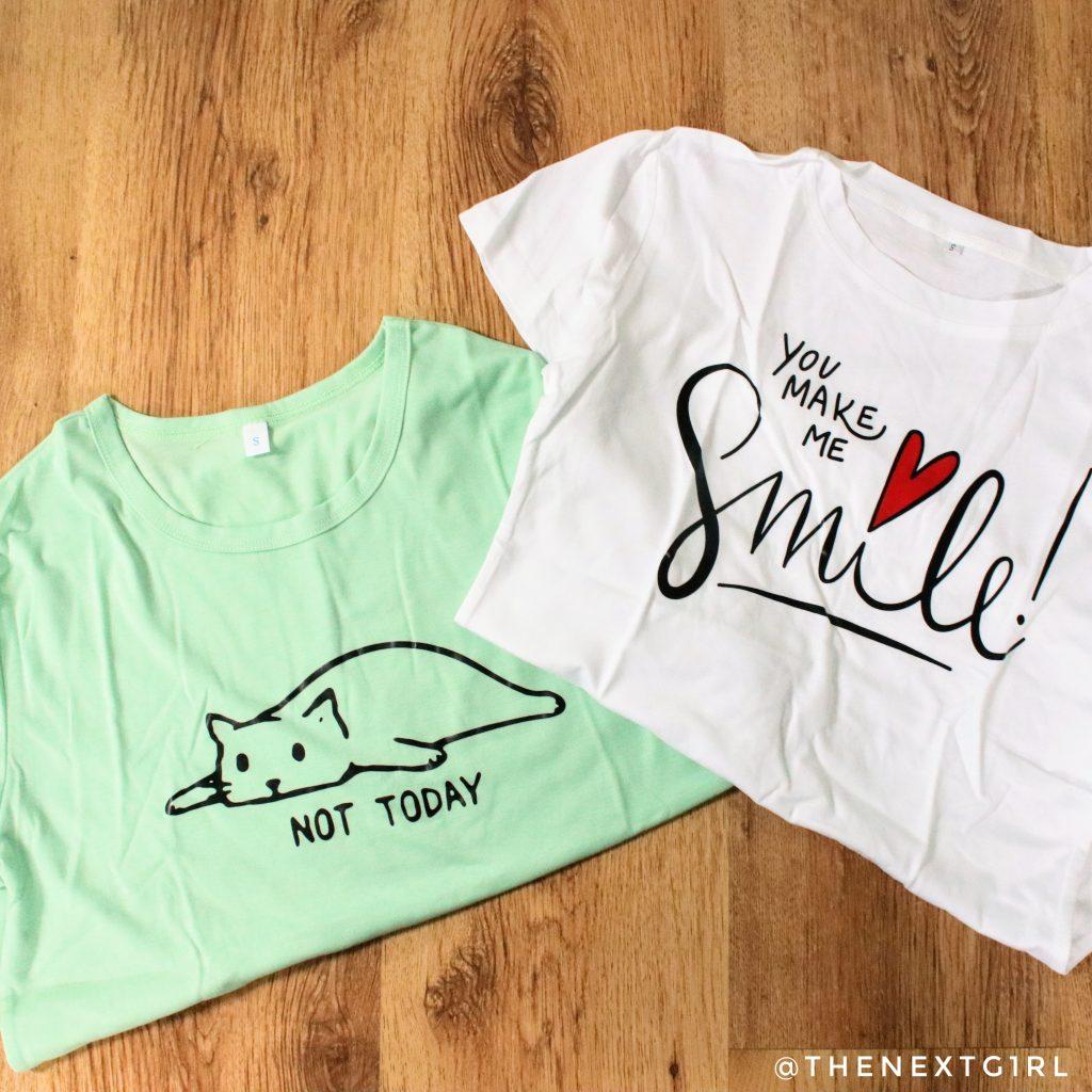 t-shirts van SHEIN met print