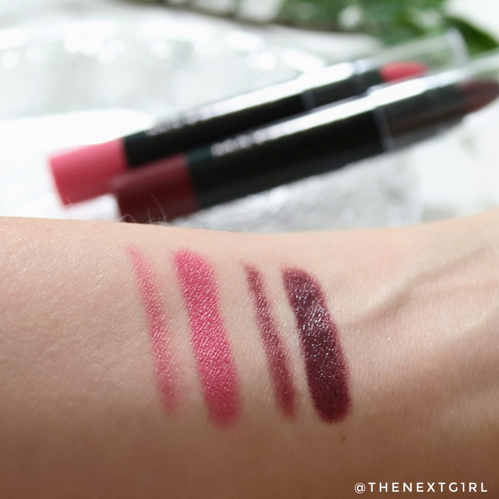 Swatches Action gekleurde lippenbalsem Grenadine & Sweet Candy