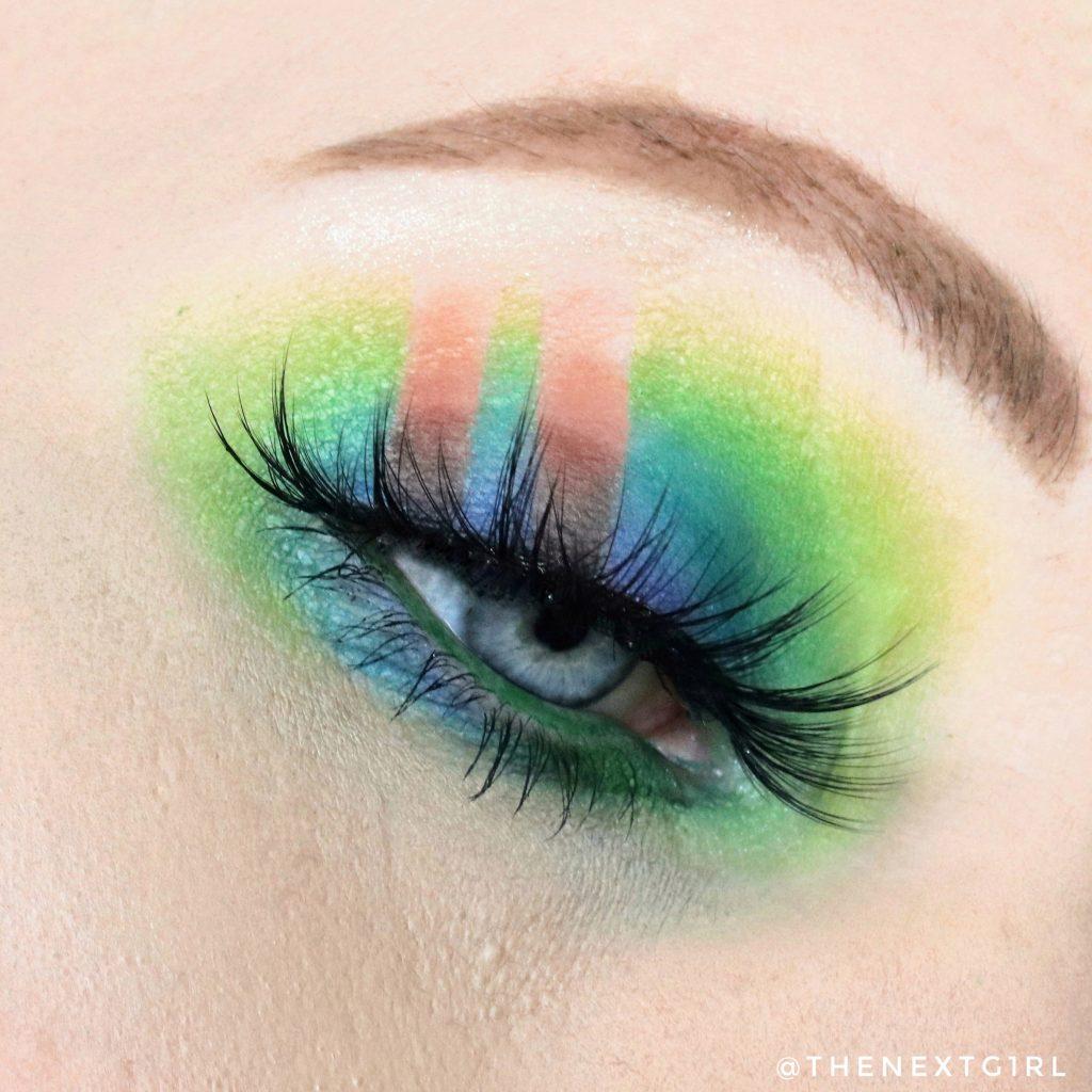 Ooglook groen blauw bruin BPerfect Stacey Marie Carnival III