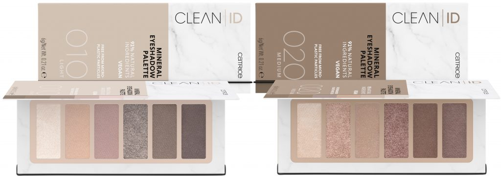 Catrice Clean Beauty oogschaduw palettes mineral