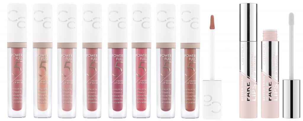 Catrice Skinfluence liquid lip balm plumping lip primer