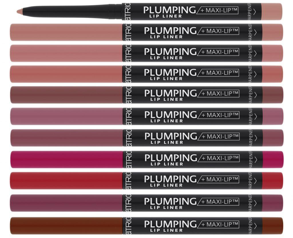 Catrice plumping lip liner 10 kleuren herfst winter 2020