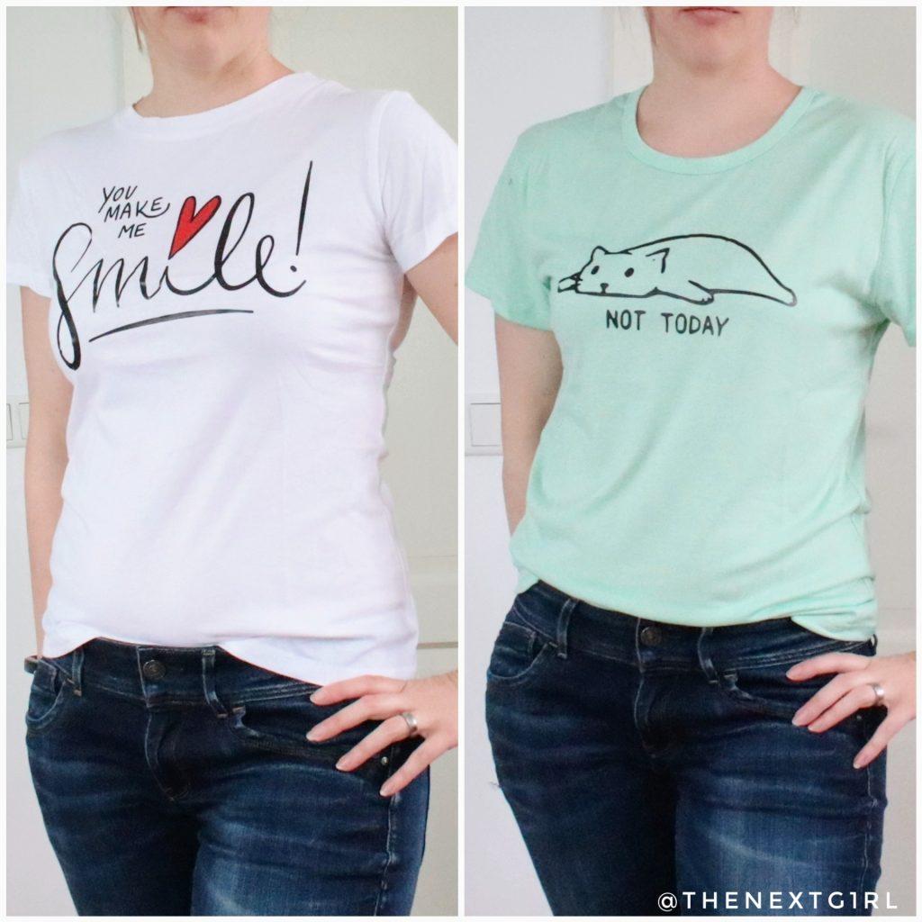 Shirts SHEIN pasvorm verschillend