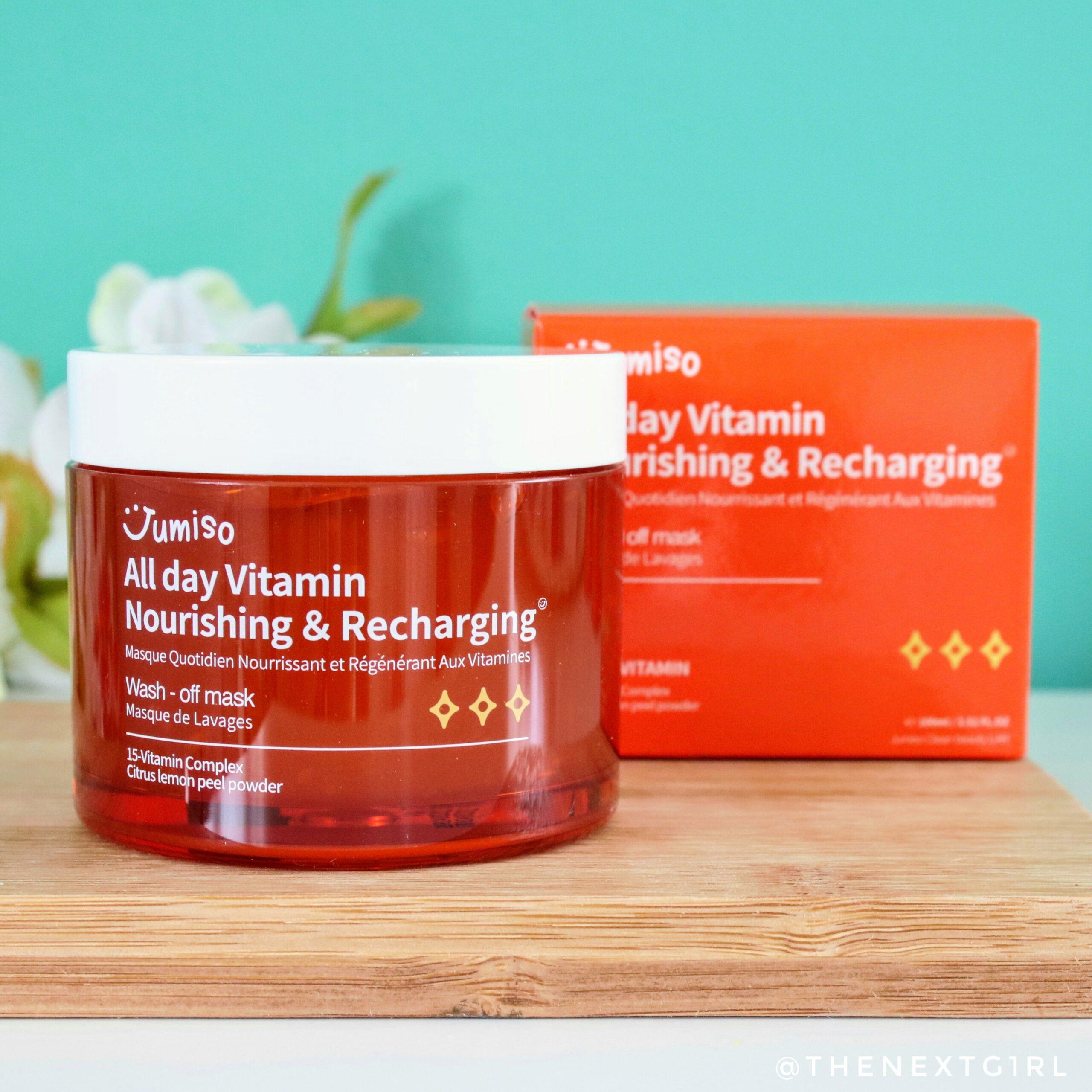 Nourishing & Recharging gezichtsmasker k-beauty