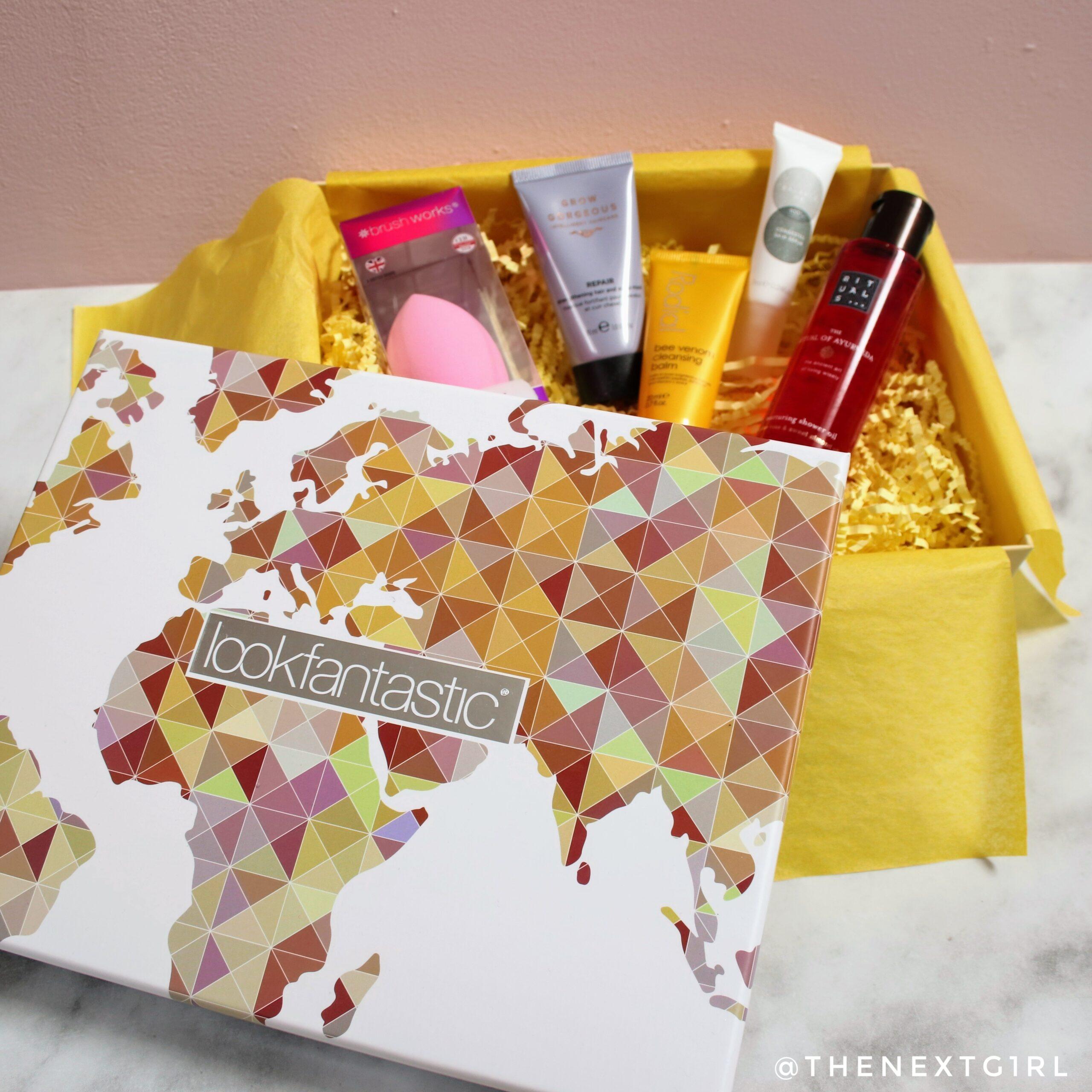 Lookfantastic beautybox 2008 mystery box inhoud