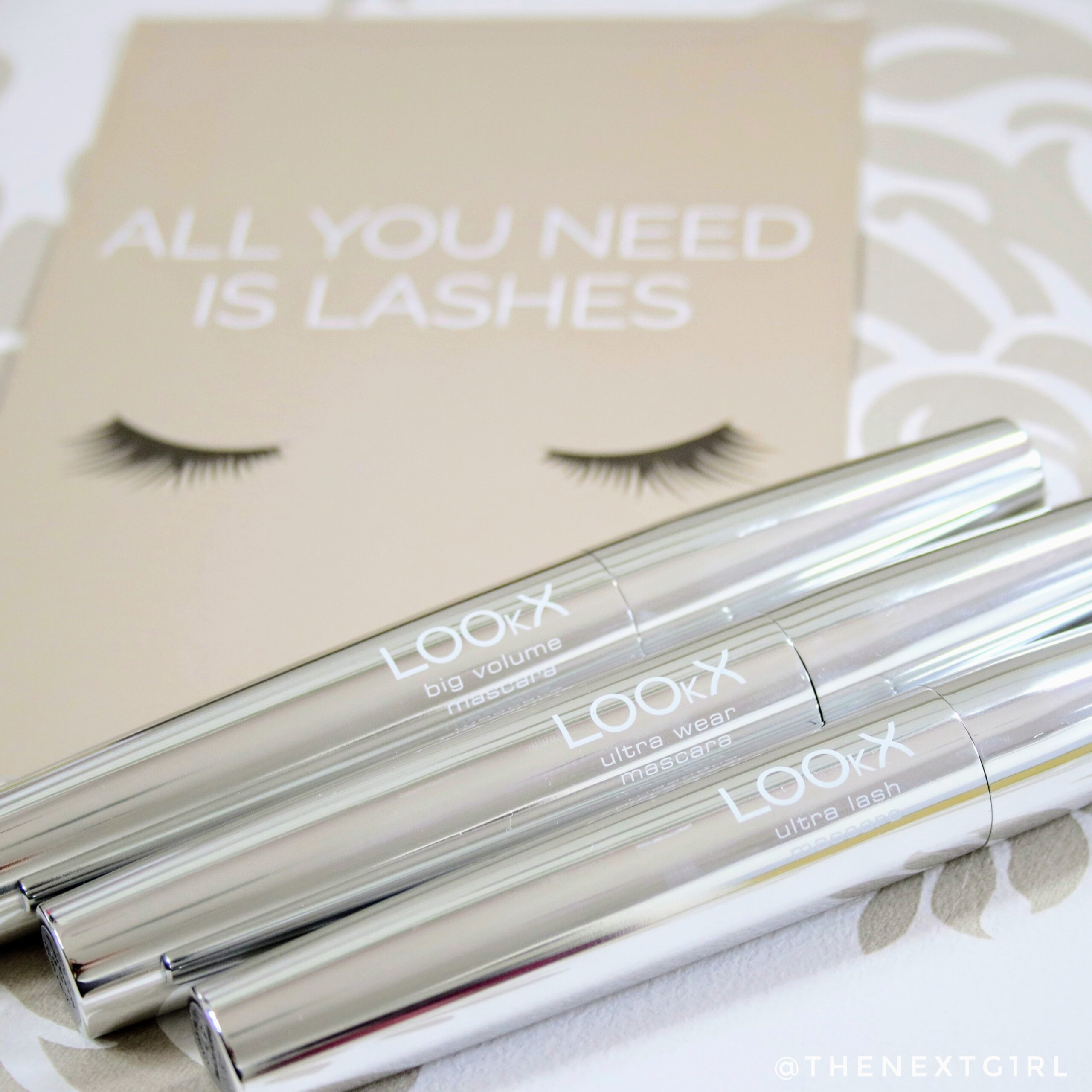 LOOkX Mascara ultra lash wear big volume