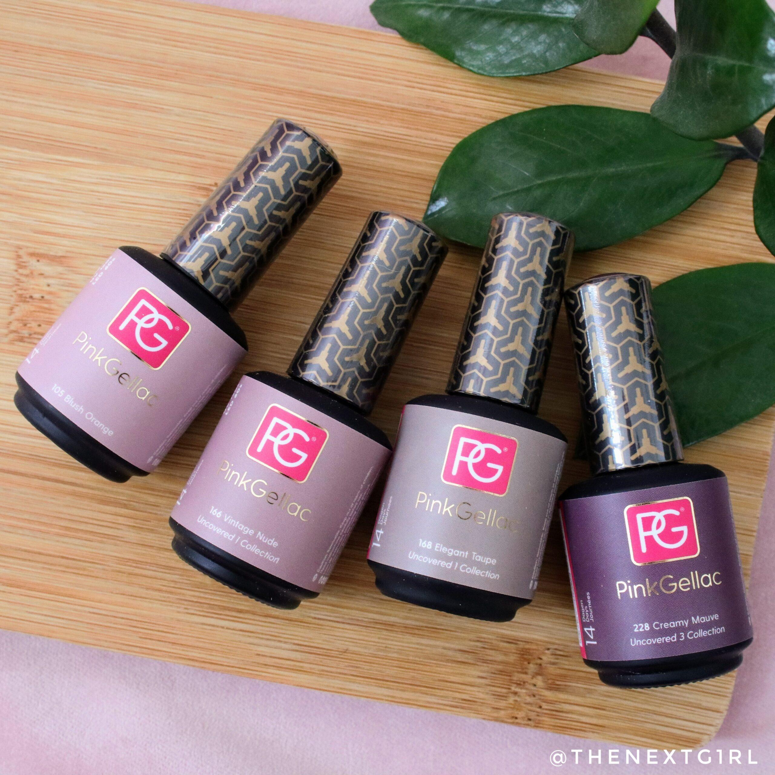 Pink Gellac gelnagellak Starterset Premium Vogue Uncovered kleuren