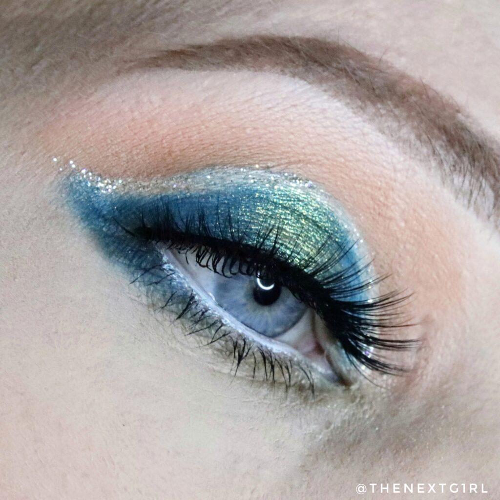 Groene look met So Jaded oogschaduwpalette