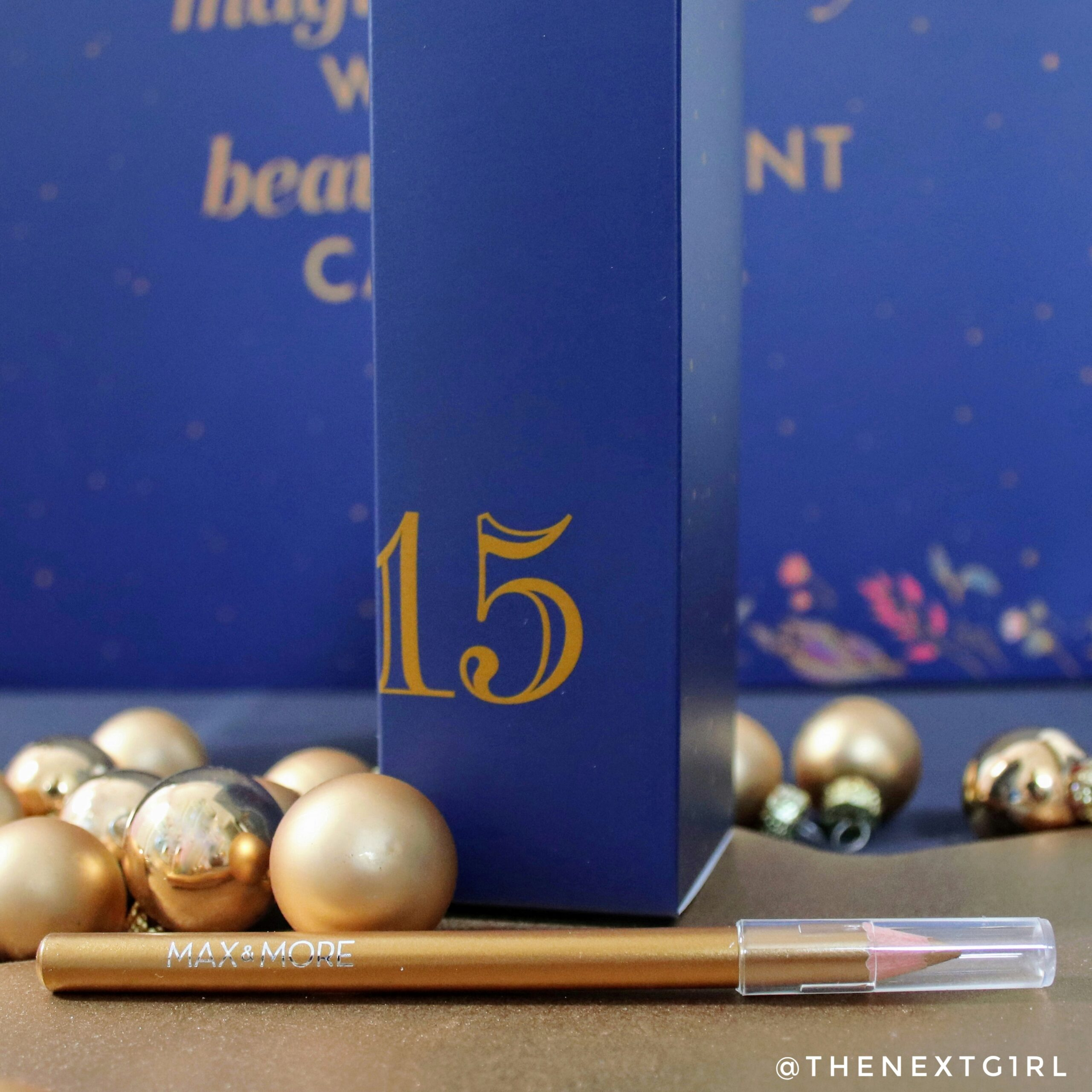 Gouden oogpotlood max & more adventskalender 2020