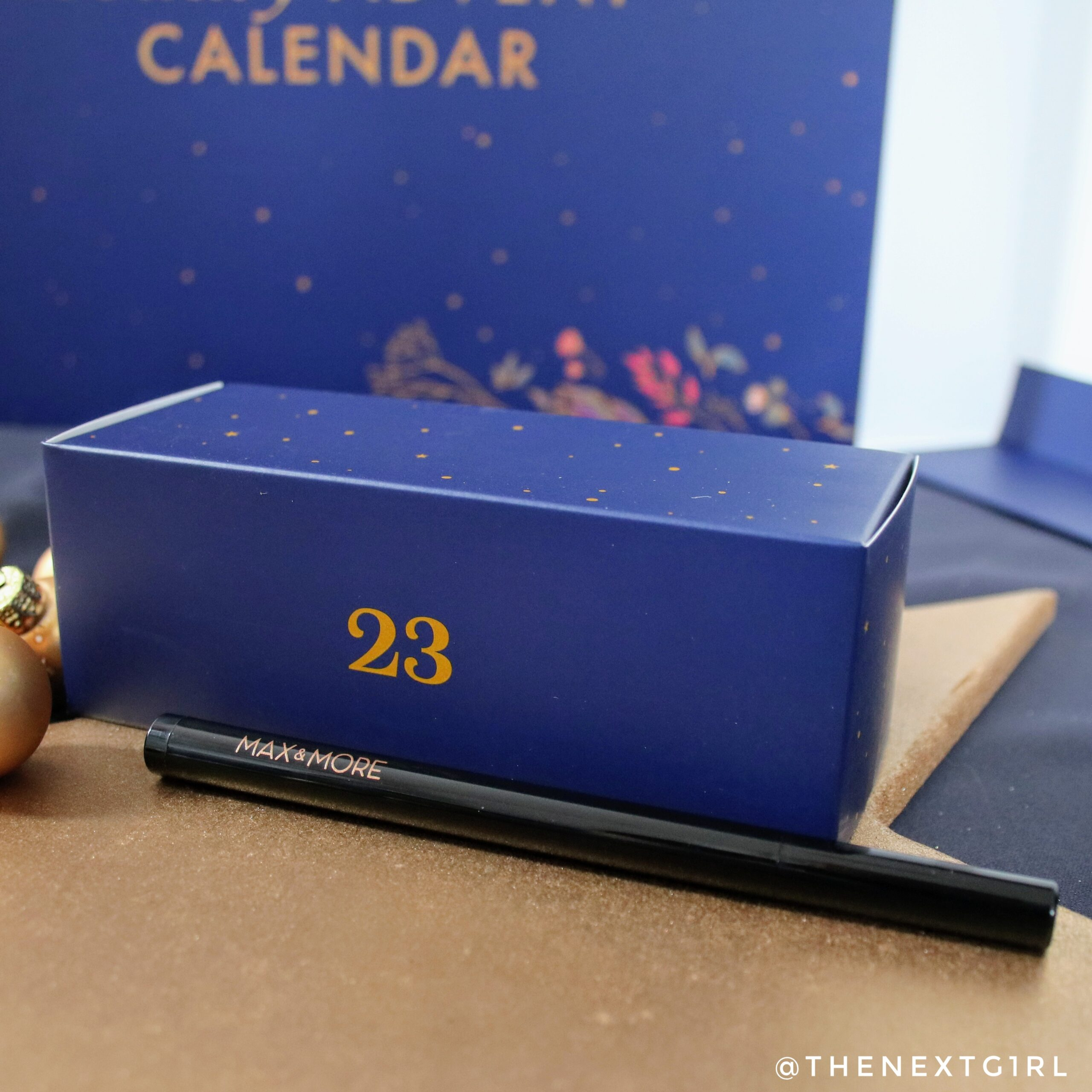zwarte eyeliner pen advent 2020 max&more action