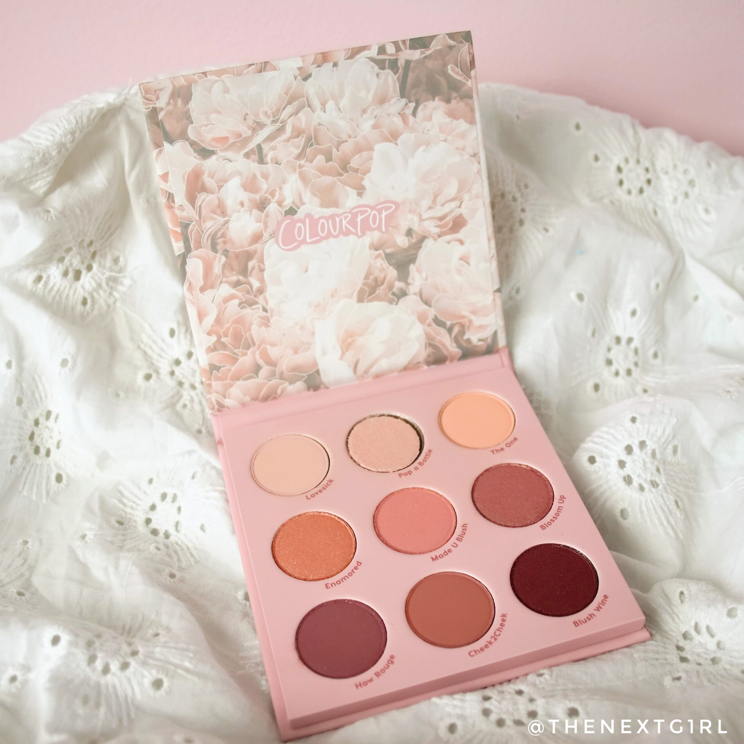 Colourpop Blush Crush pressed powder palette