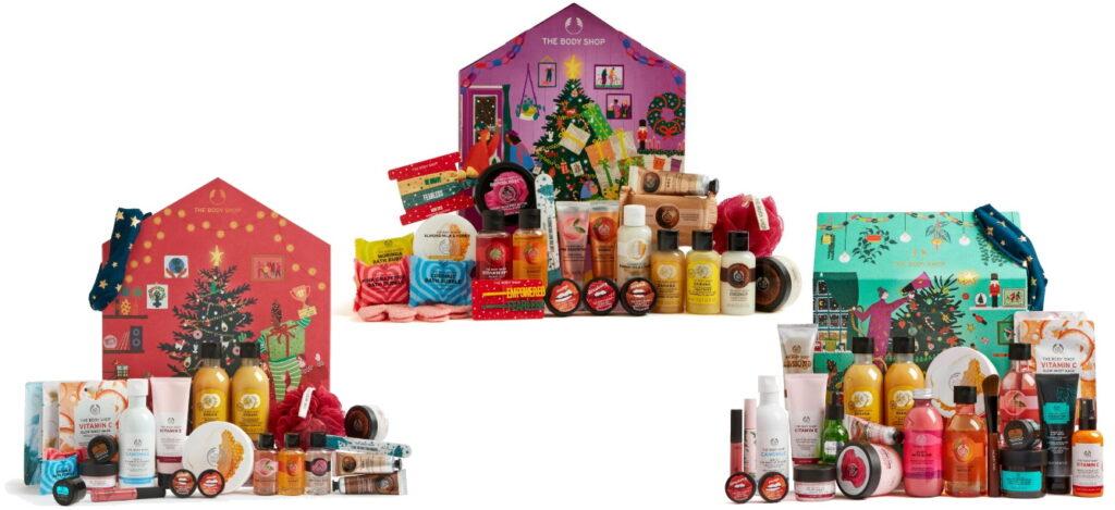 Inhoud The Body Shop adventskalender 2020