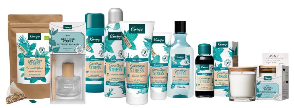 Kneipp Goodbye Stress productlijn
