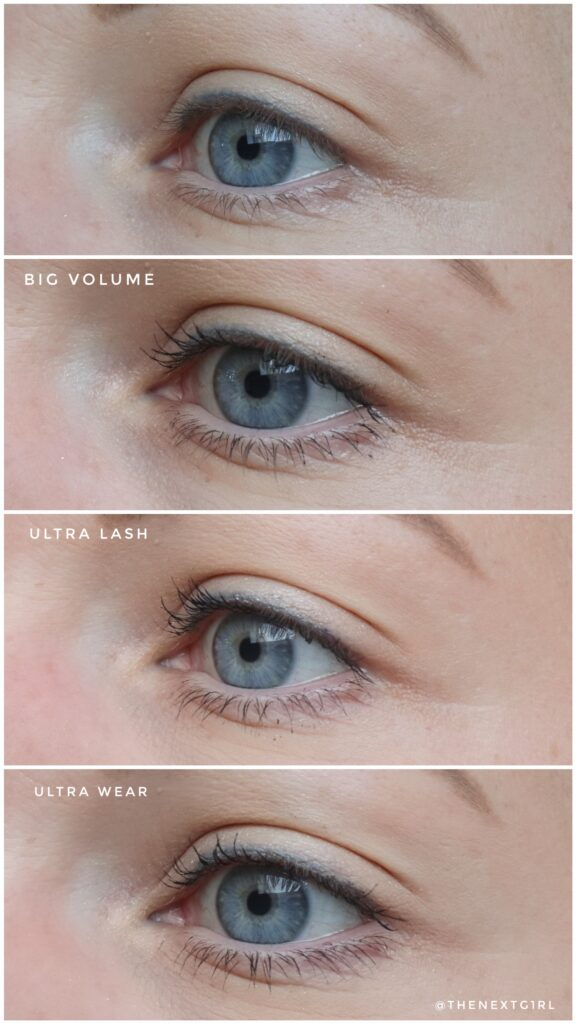Vergelijking mascara's half voor