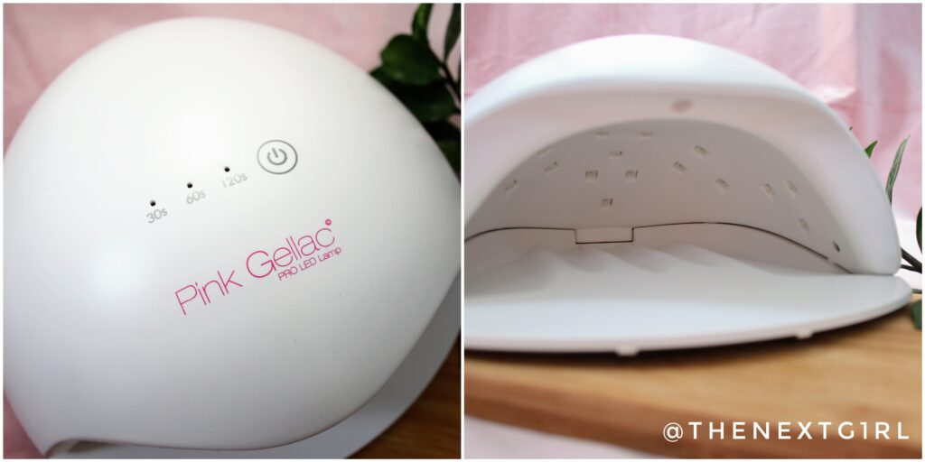 PinkGellac ledlamp voor gelnagellak