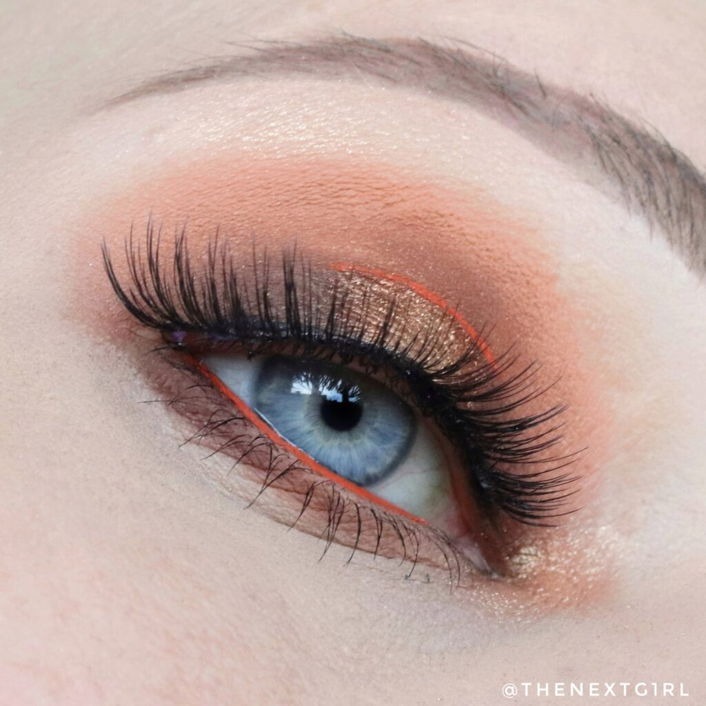 Ooglook Catrice 5 in a box Warm Spice Look
