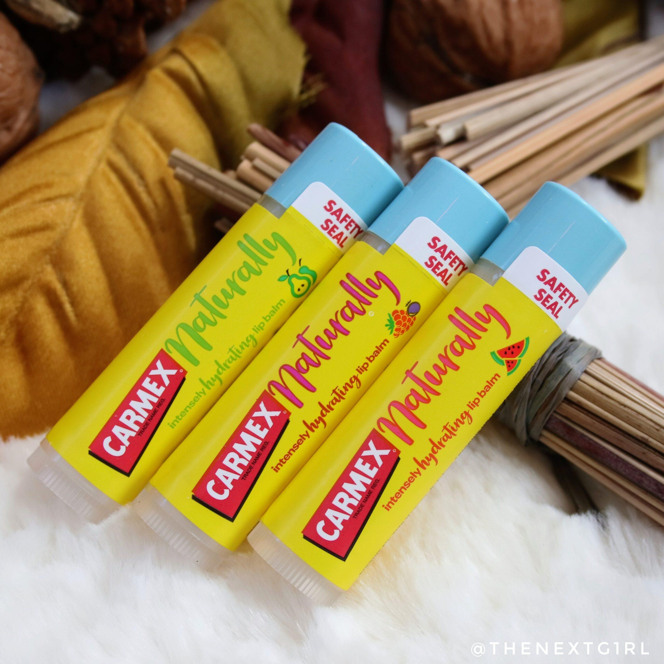 Carmex Naturally nieuwe smaken 2020