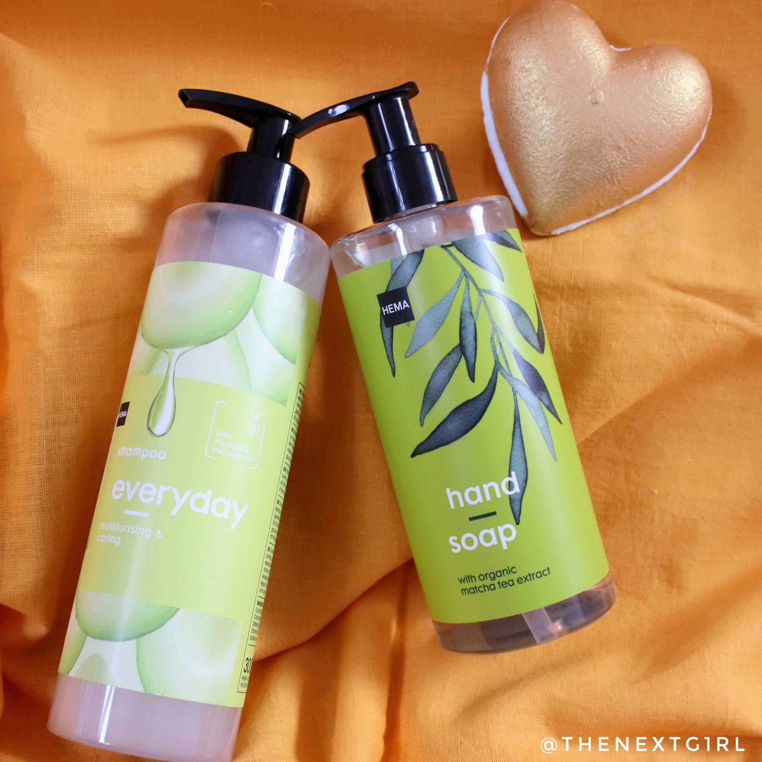 Vegan Hema Beauty shampoo handzeep bruisbal