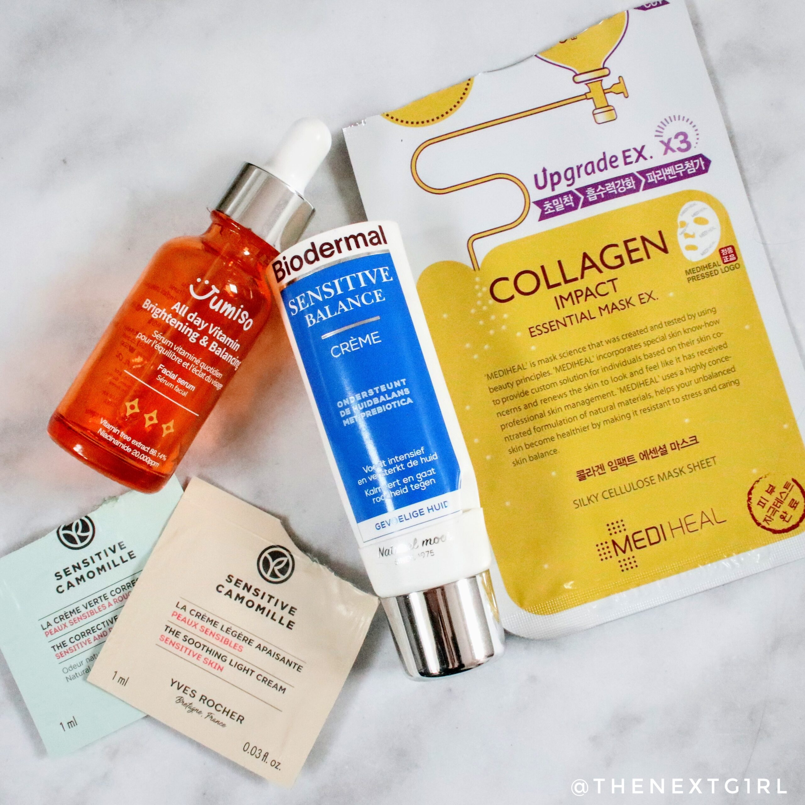 Skincare empties oktober 2020