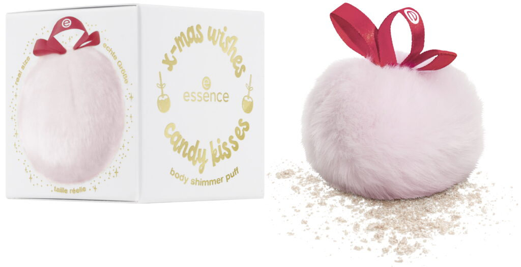 Body Shimmer Puff Essence x-mas wishes candy kisses