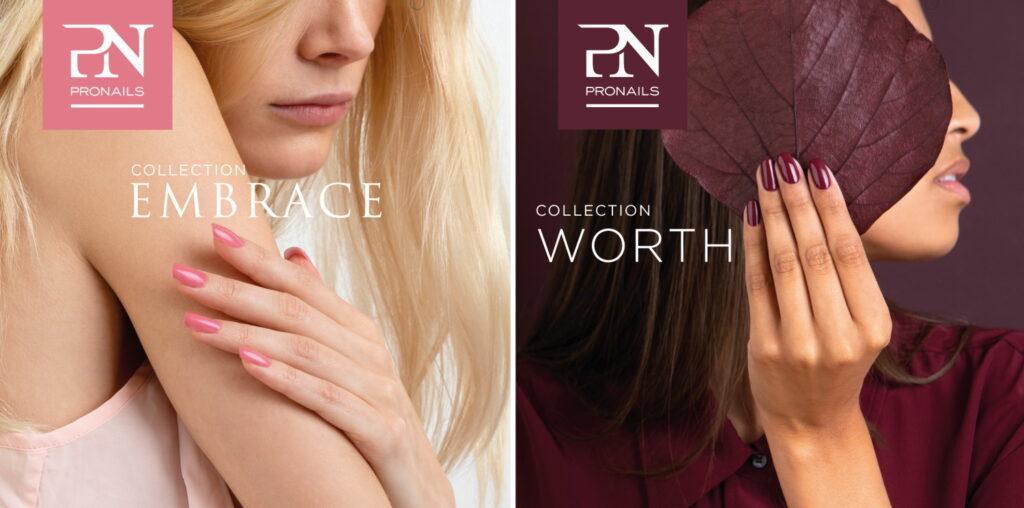 ProNails Embrace Worth collectie nagellak banners