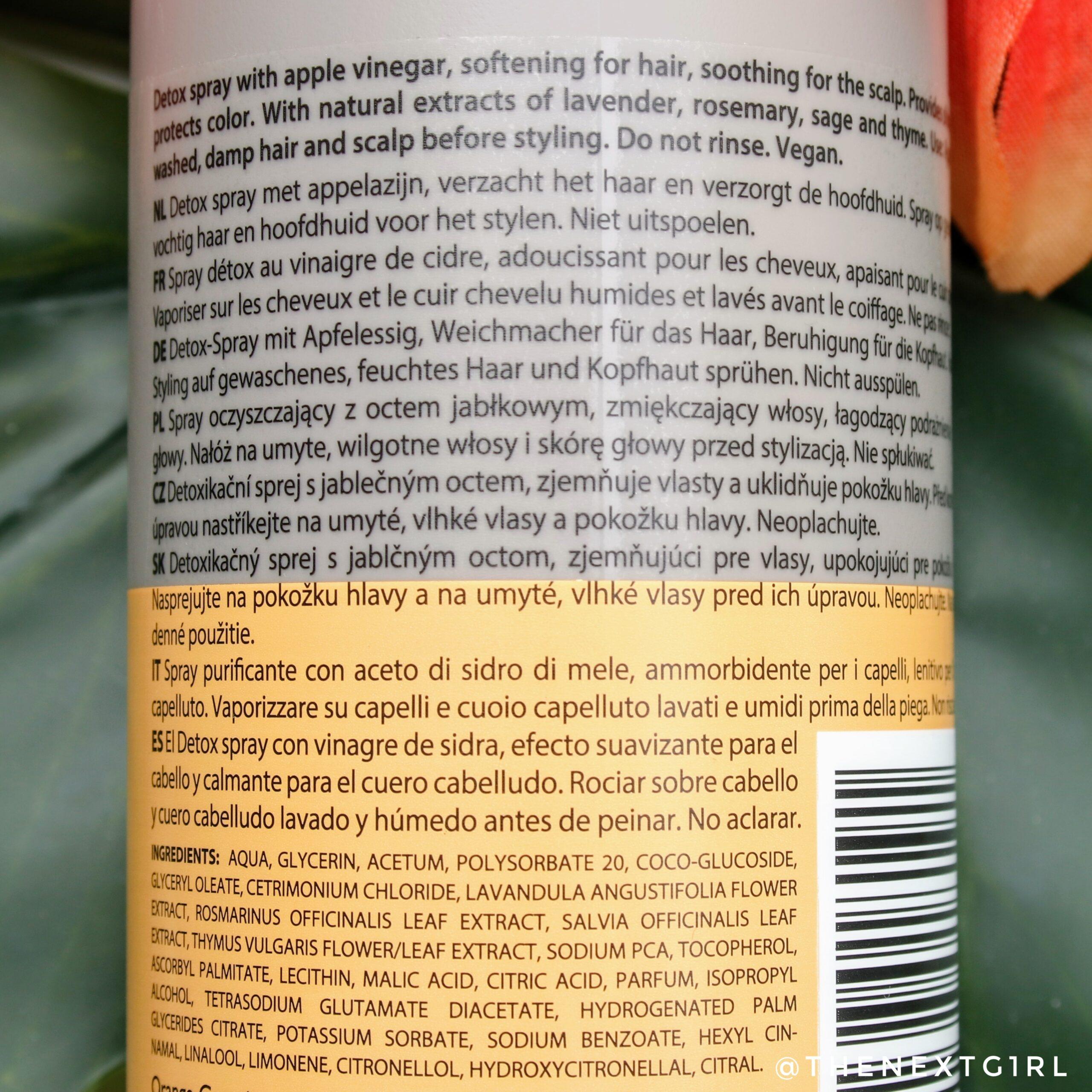 appelazijn spray voor je haar van Action
