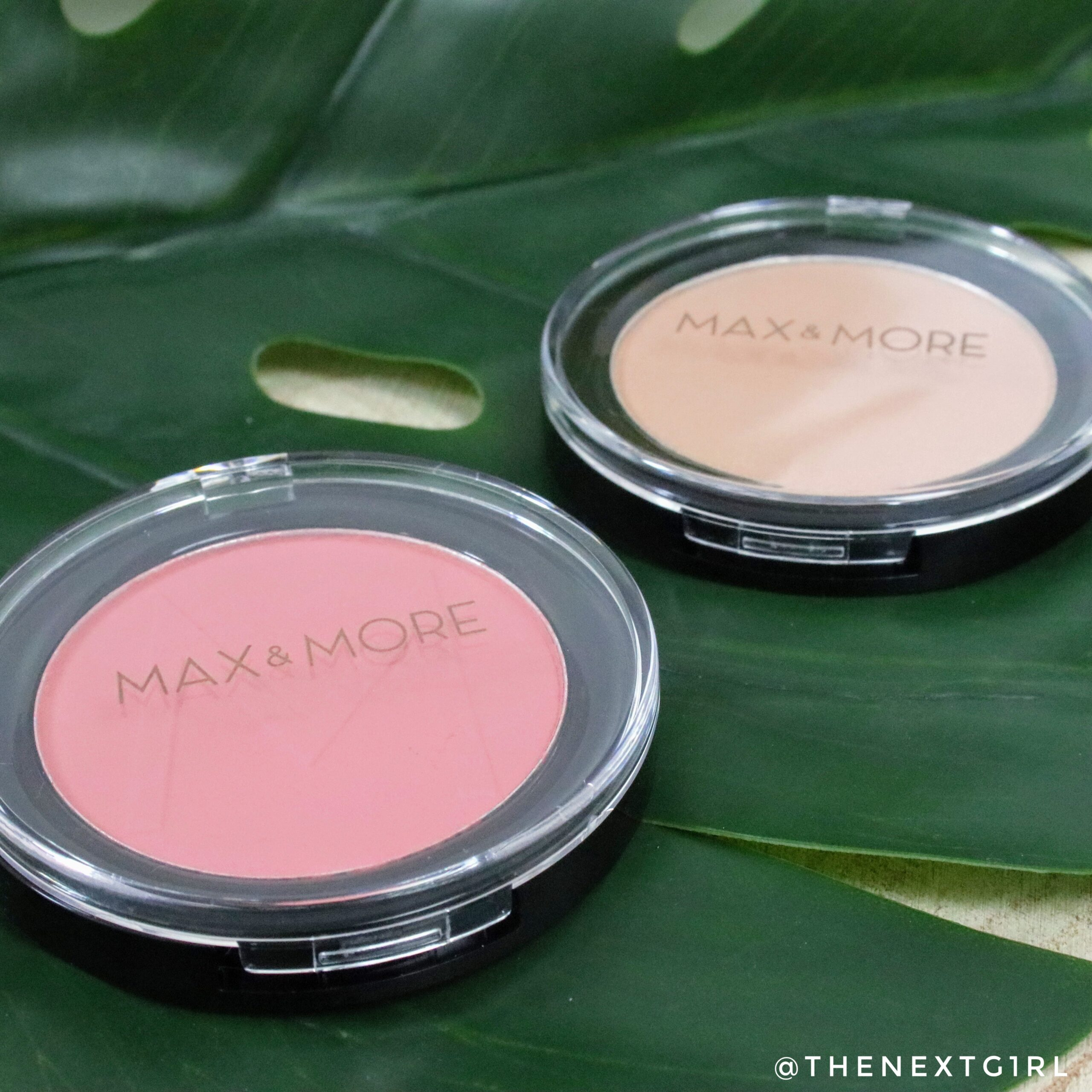 Max & More Pink Coral blush + highlighter van Action