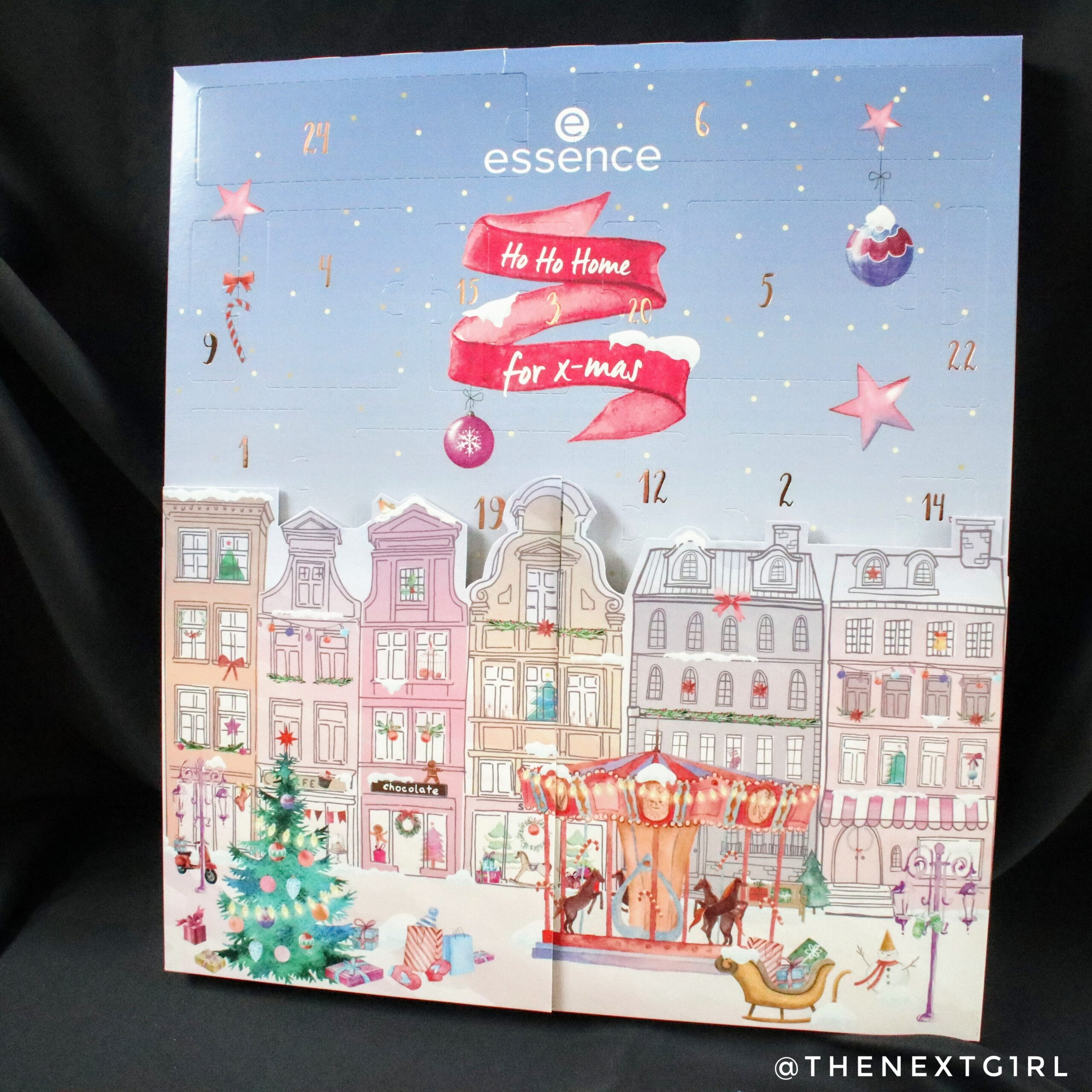 Essence Ho Ho Home for x-mas adventskalender 2020