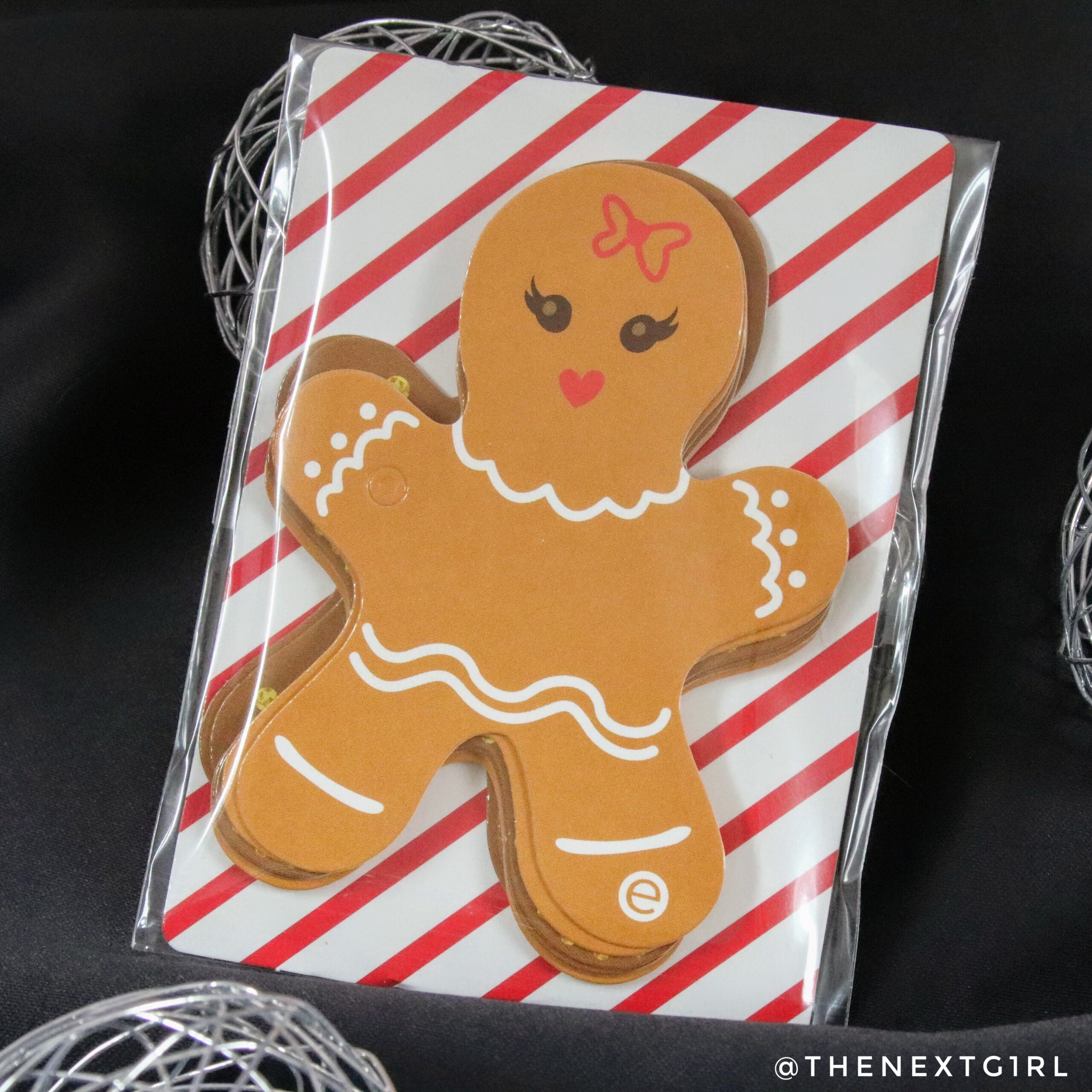 Cadeaulabels Essence gingerbreadman kerstmis