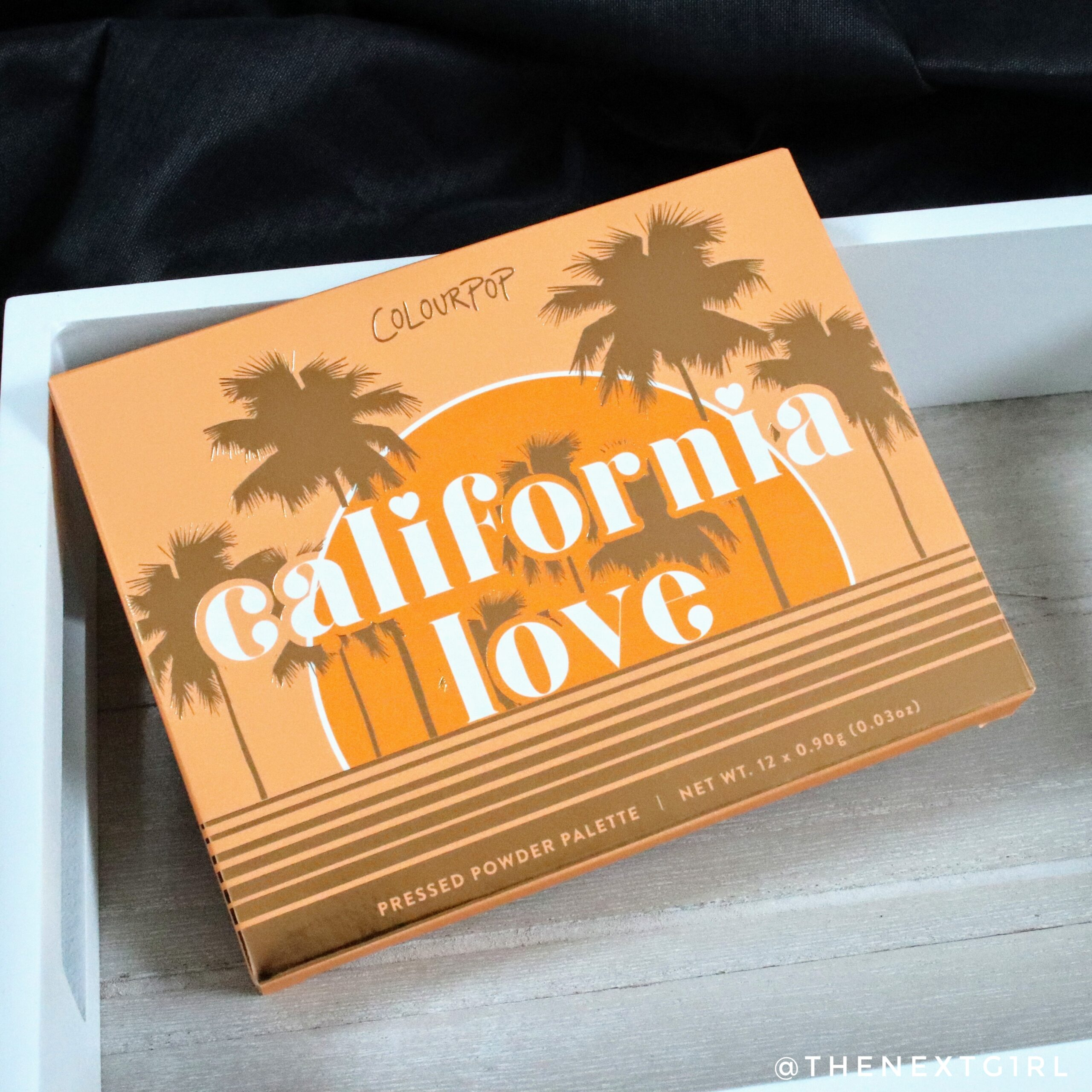 Colourpop California Love palette