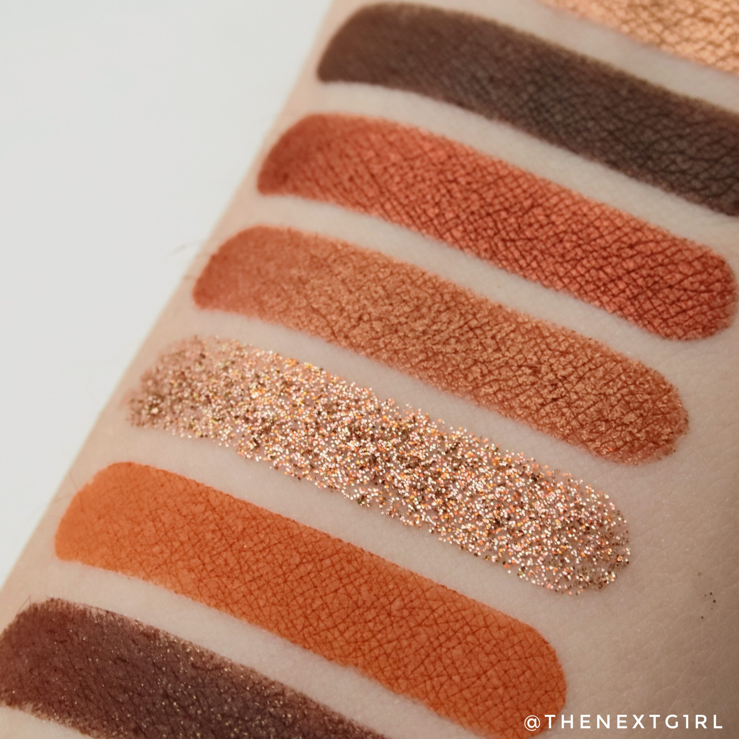 Close-up swatches CP El Capitan