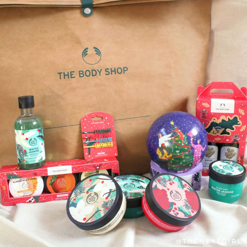 Kerstcadeaus The Body Shop 2020