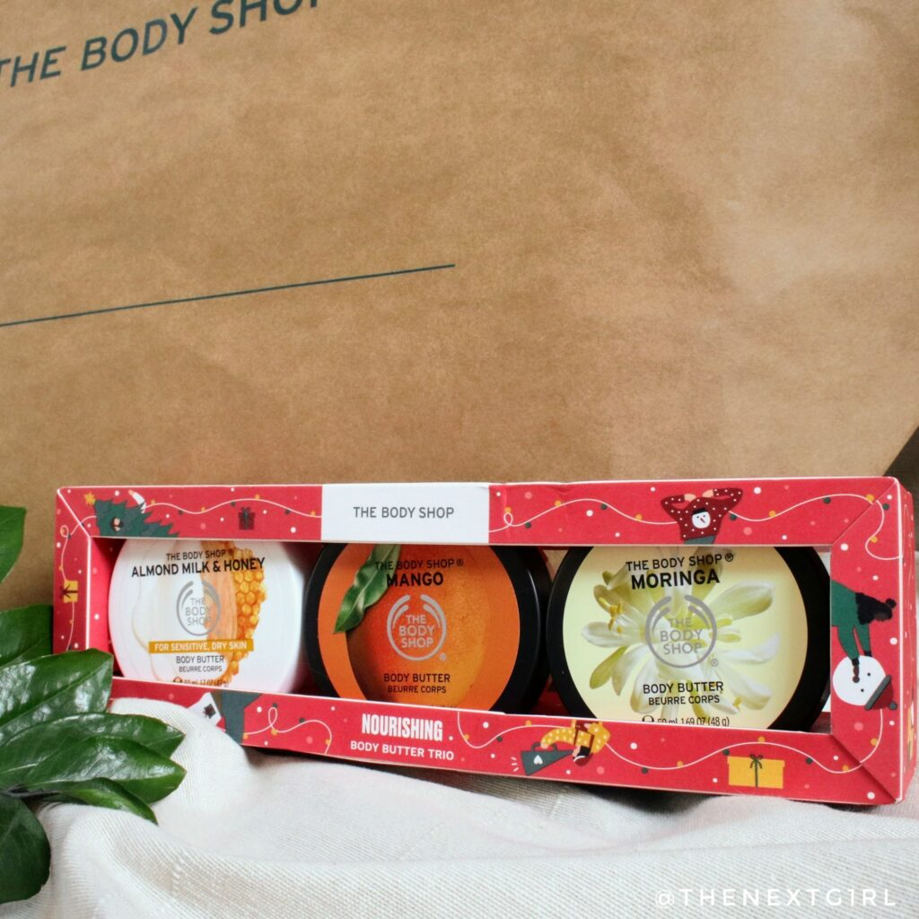 TBS mini bodybutter trio kerstcadeau