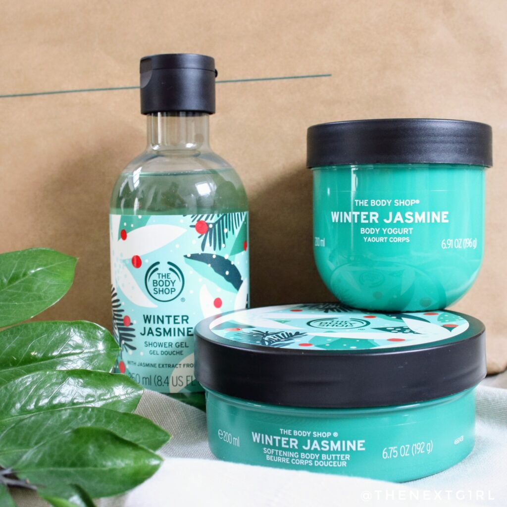 The Body Shop Winter Jasmine limited producten kerst 2020