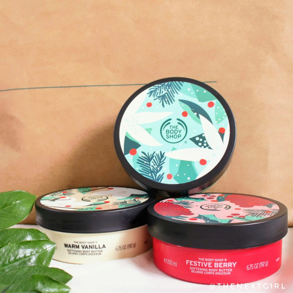 TBS Limited edition body butters vanilla berry