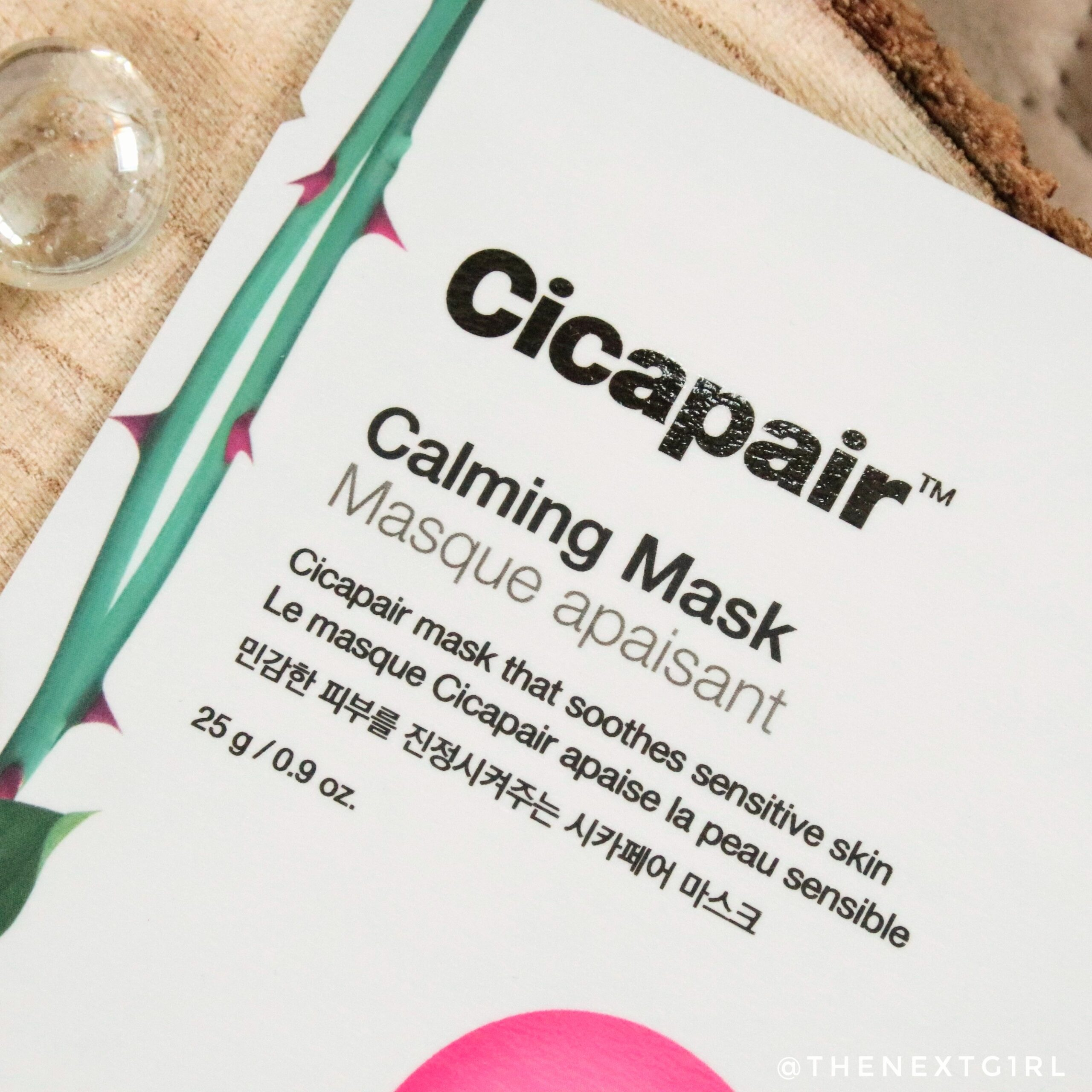 Cicapair Calming Mask sheetmasker Masuka