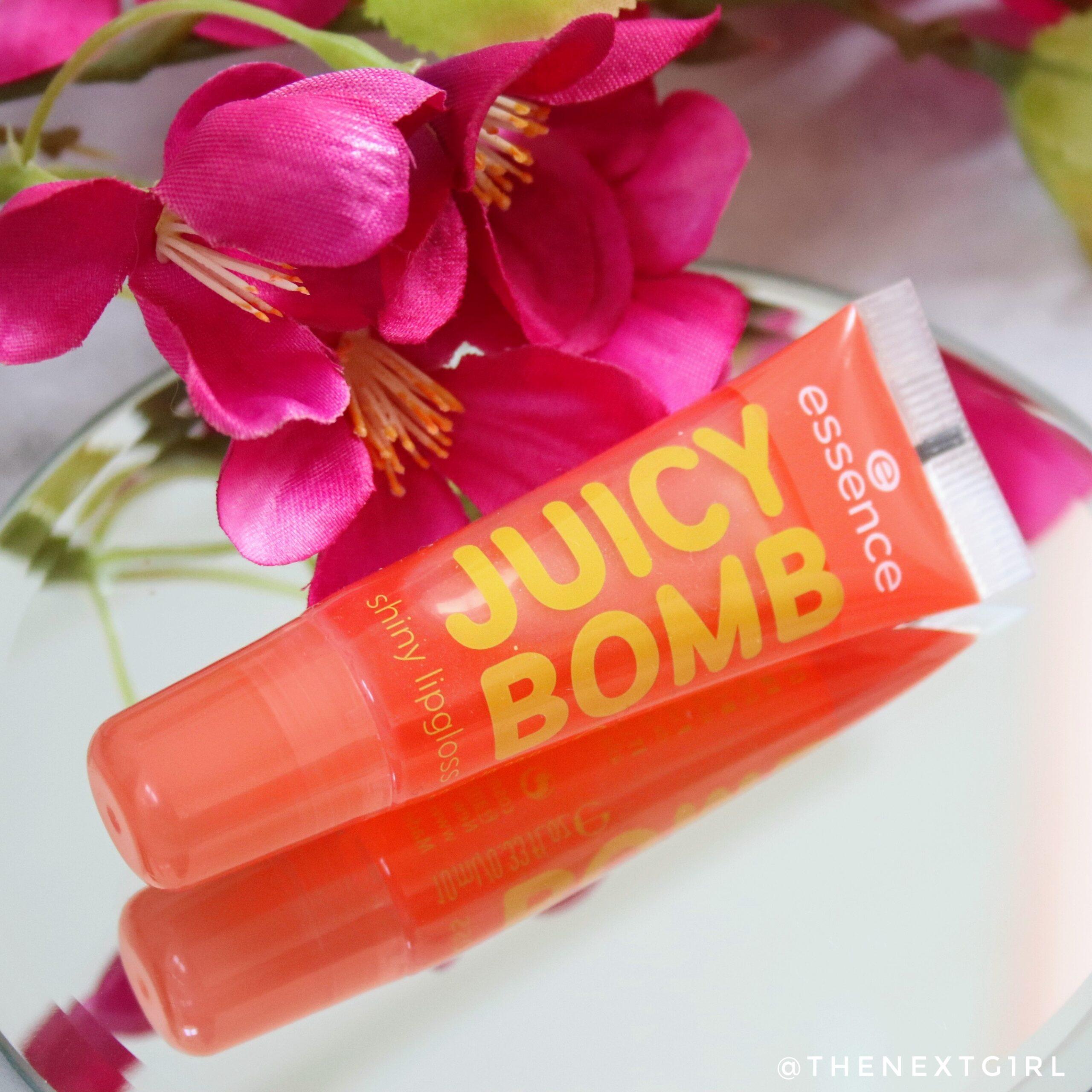 Review: Essence Juicy Bomb shiny lipgloss