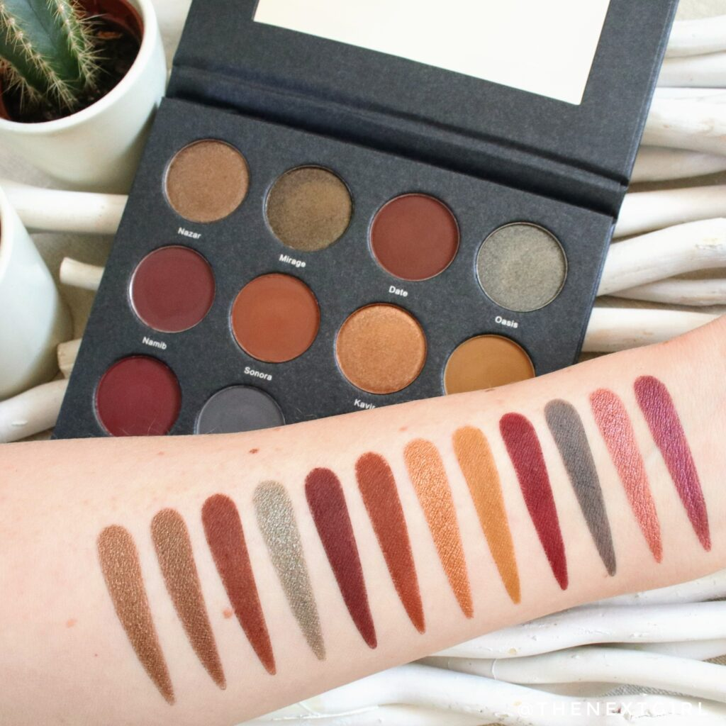 Swatches Fifty fifty makeup Desert Volume 2