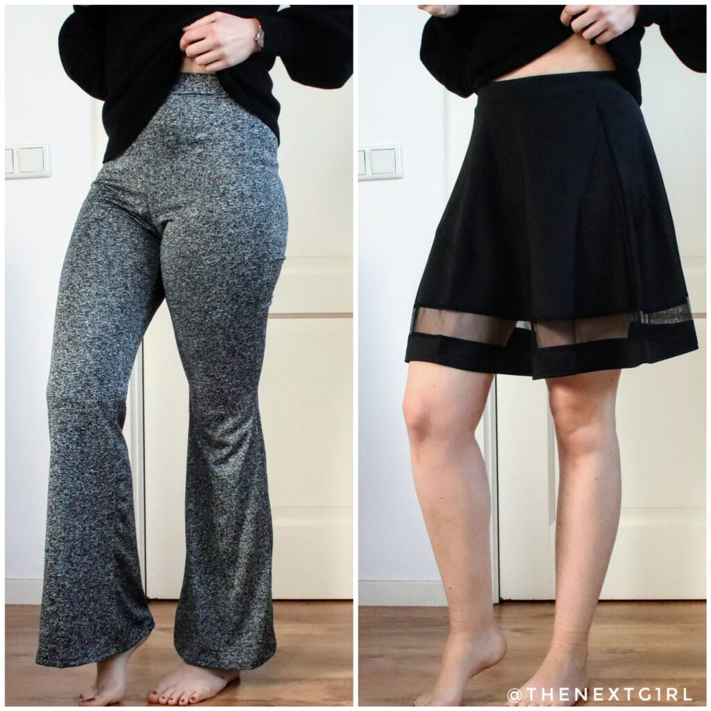 Broek en rok SHEIN shoplog november 2020