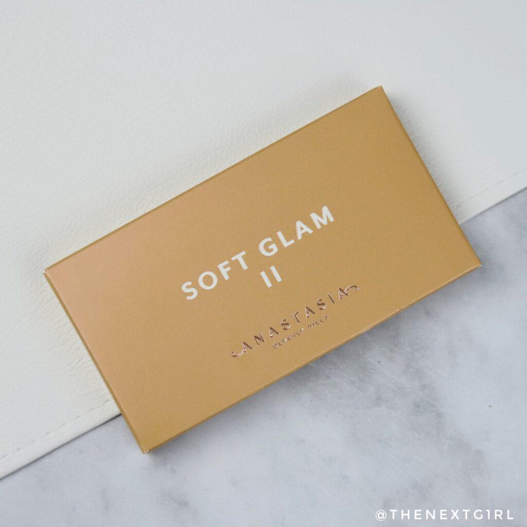 ABH Soft Glam 2 oogschaduwpalette verpakking