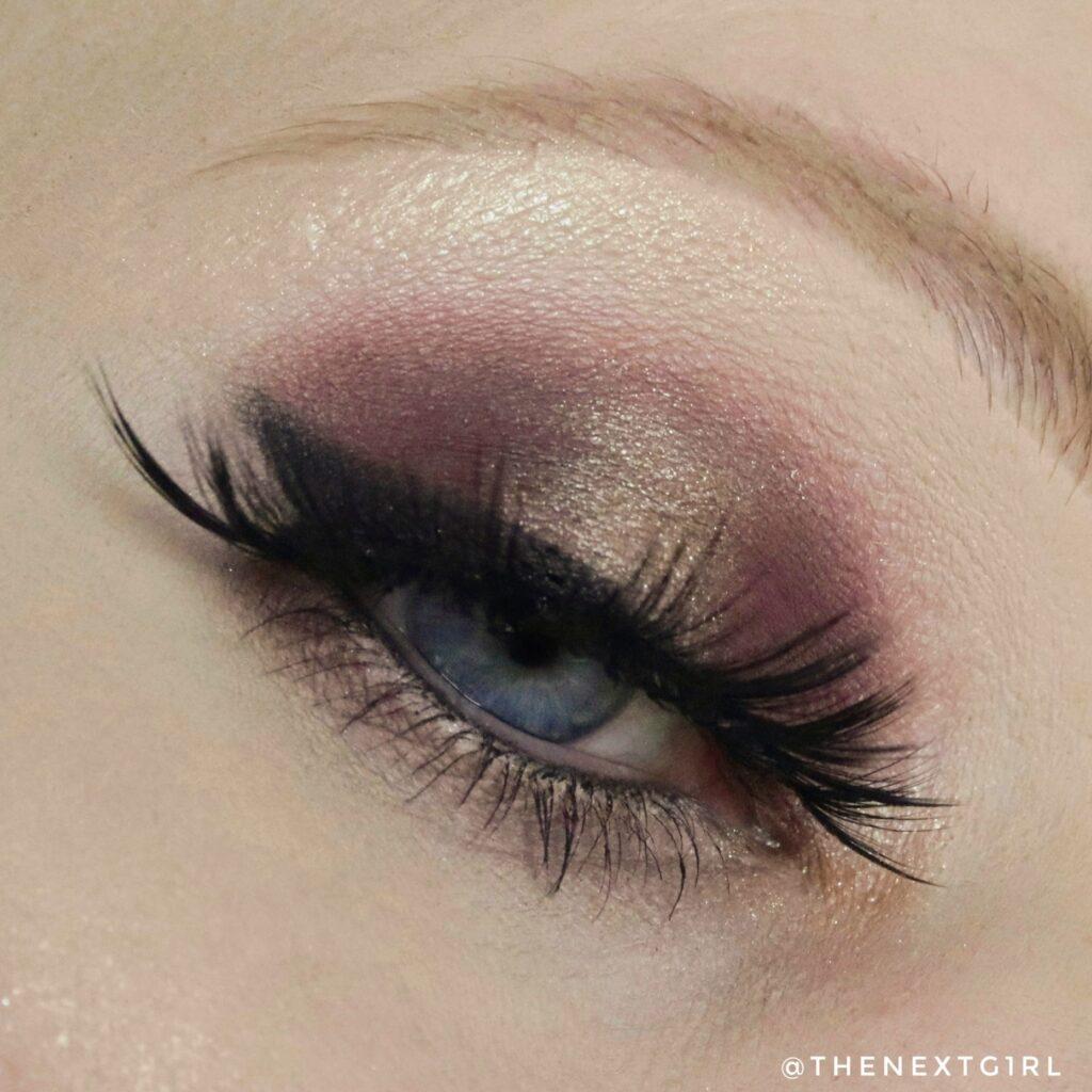 Ooglook met ABH Soft Glam 2 oogschaduwpalette