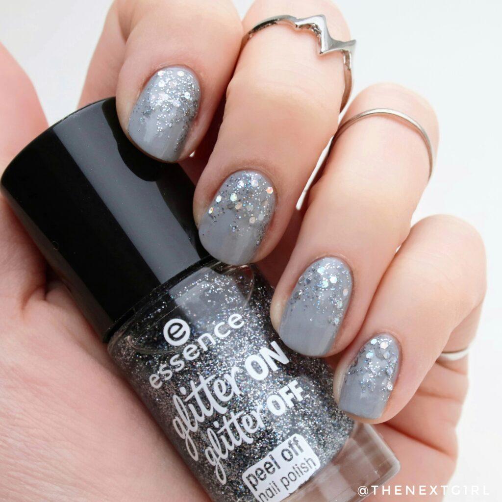 Nailart met glitters nagellak feestdagen